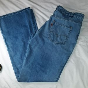 Orange Tab Levi's Flare Jeans Size 31 Not Vintage
